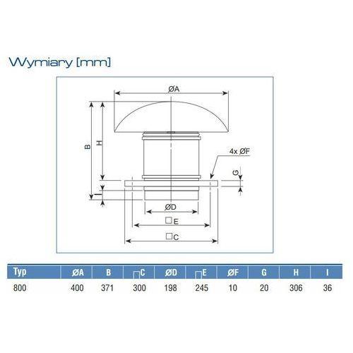 Venture industries /soler palau Wentylator dachowy th 800