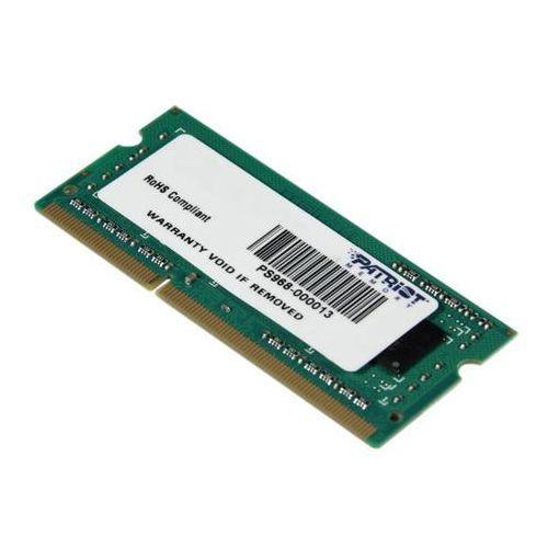 Patriot Signature Line DDR3 4GB 1600 CL11 SODIMM - produkt w magazynie - szybka wysyłka!, PSD34G160081S