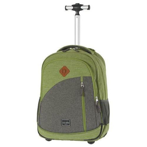 basics plecak na kółkach / kabinowy 20/47 cm / zielony - zielony marki Travelite