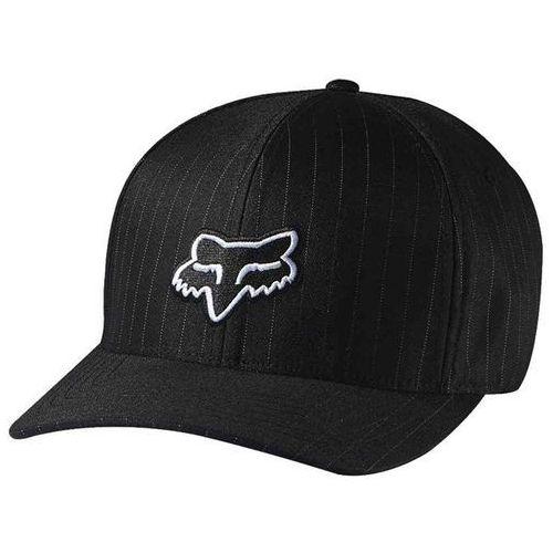 czapka z daszkiem FOX - Legacy Flexfit Hat Black Pinstripe (515) rozmiar: S/M