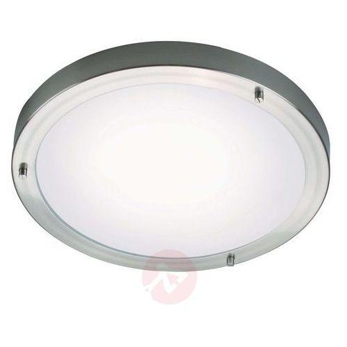 Ancona Maxi LED lampa sufitowa szczotkowana stal