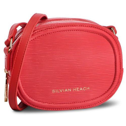 Torebka SILVIAN HEACH - Shoulder Bag Graena Saffiano RCP19053BO Red 6 W2174, kolor czerwony