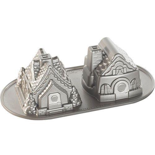 Nordic ware Forma do ciasta dwa domki z piernika (86748)