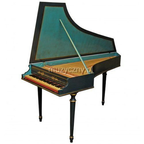 Bizzi Studio klawesyn 1-manuałowy z transpozycją A=440Hz/415Hz Płacąc przelewem przesyłka gratis!