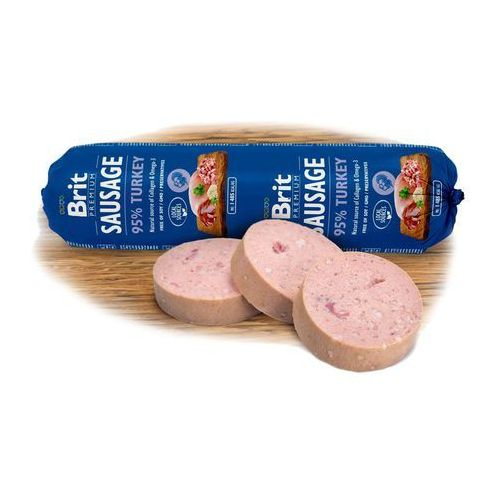 Brit dog sausage turkey/rice 800g - 800g