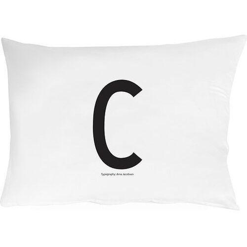 Poszewka na poduszkę Arne Jacobsens Vintage ABC litera C