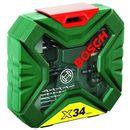 Zestaw wierteł i bitów Bosch X-Line, 34 szt.