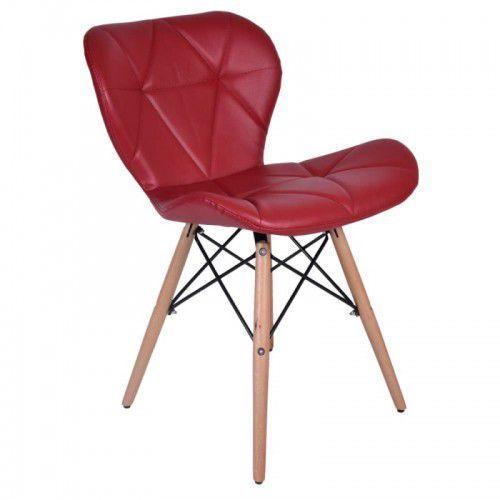 Krzesło oslo czerwone marki Krzeslaihokery