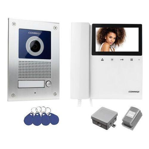 Wideodomofon zestaw Commax DRC-41UN/RFID + CDV-43K, DRC-41UN/RFID_CDV-43K