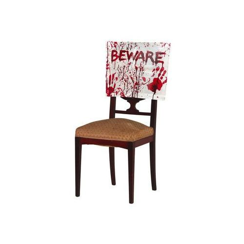Zakrwawiony pokrowiec na krzesło - 1 szt. (8434077264454)