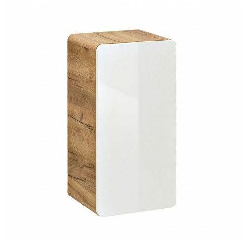 Producent: elior Półsłupek łazienkowy podwieszany borneo 5x - biały połysk