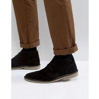 desert boots in black - black marki Ben sherman