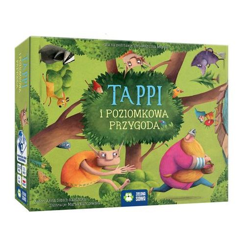 Zielona sowa Tappi i poziomkowa przygoda