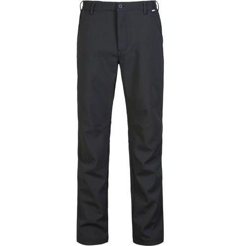 Regatta fenton spodnie długie mężczyźni czarny 54 2018 spodnie softshell