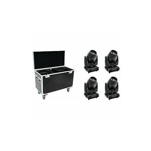 FUTURELIGHT Zestaw 4x DMB-160 LED Moving-Head + Case