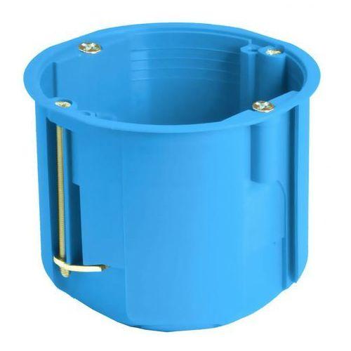 Simet puszka instalacyjna do pustych ścian głęboka Ø 60 pv60d niebieska 32013203 (5907813224836)
