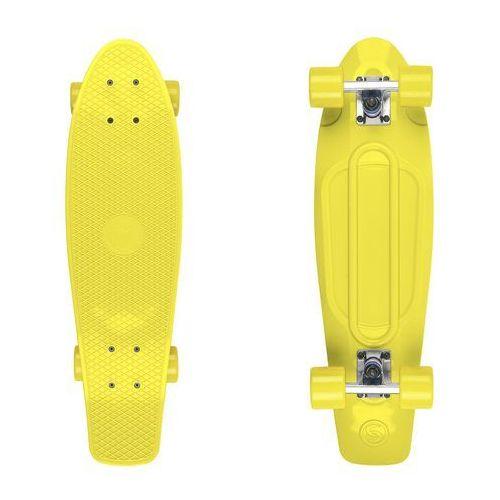 Fish skateboards Deskorolka fishskateboards big fish yellow / silver / yellow