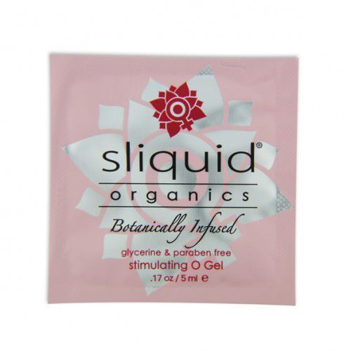 Tester SASZETKA lubrykant - Sliquid Organics O Gel Pillow 5 ml, SLI01A