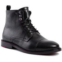 Kozaki WOJAS - 9171-51 Czarny, kolor czarny