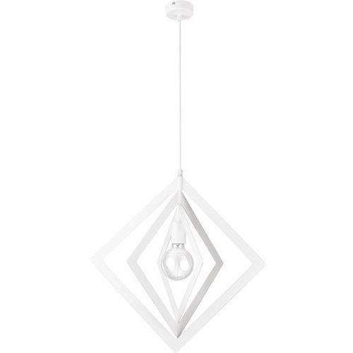Sigma Trik romb biały 1 zwis m - żyrandol/lampa wisząca (5902335266197)