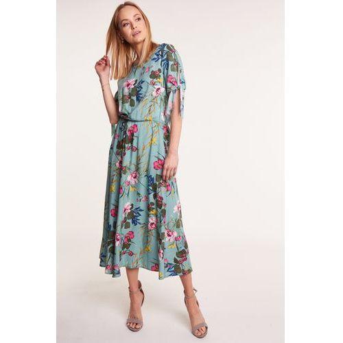 Długa sukienka w kwiaty, 1 rozmiar
