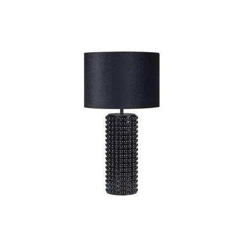Stojąca LAMPA stołowa PROUD 107483 Markslojd abażurowa LAMPKA nocna czarna, 107483