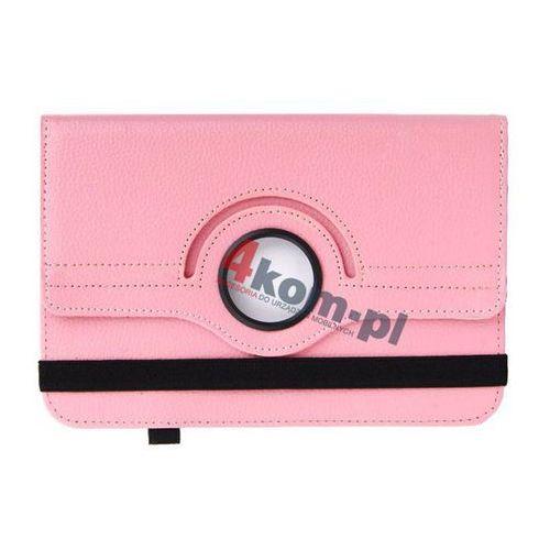"""Uniwersalne etui obrotowe do Tabletów 10"""" - Różowy, kolor różowy"""
