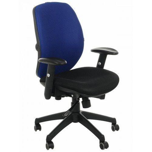 Krzesło obrotowe biurowe KB-912/b/NIEBIESKI, KB-912B/NIEBIESKI