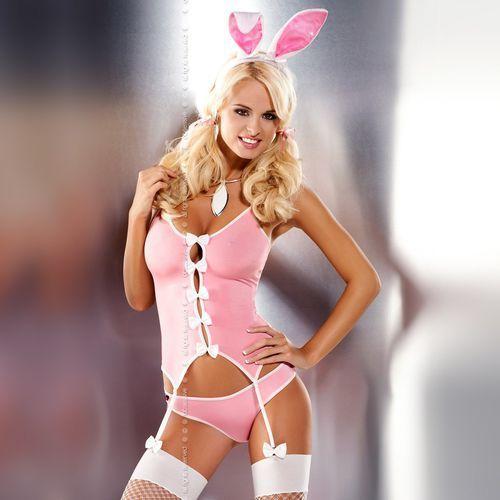 Kostium króliczek - Obsessive Bunny Suit Costume L/XL