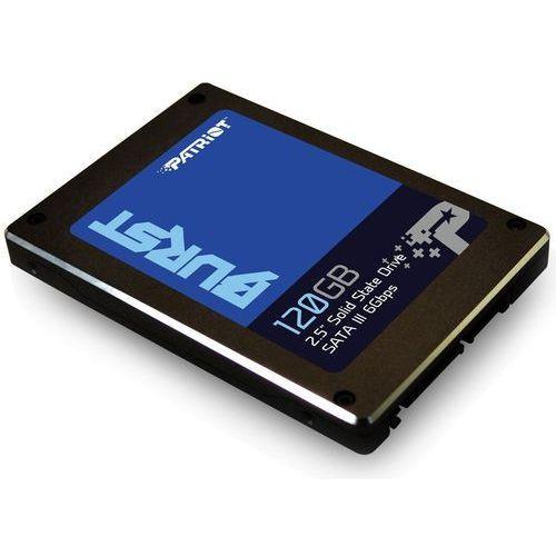 Dysk SSD Patriot Burst 120GB SATA3 (PBU120GS25SSDR) PBU120GS25SSDR - odbiór w 2000 punktach - Salony, Paczkomaty, Stacje Orlen