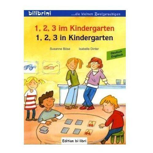 1, 2, 3 im Kindergarten, Deutsch-Englisch. 1, 2, 3 in Kindergarten