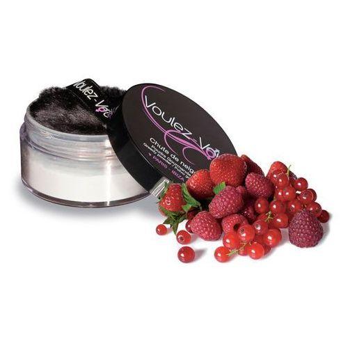 Smaczny pyłek do ciała - Voulez-Vous... Edible Body Powder czerwone owoce