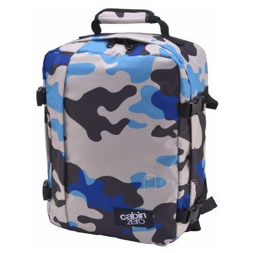 CabinZero Classic 28L torba podróżna podręczna / kabinowa / plecak / Blue Camo - Blue Camo, kolor wielokolorowy
