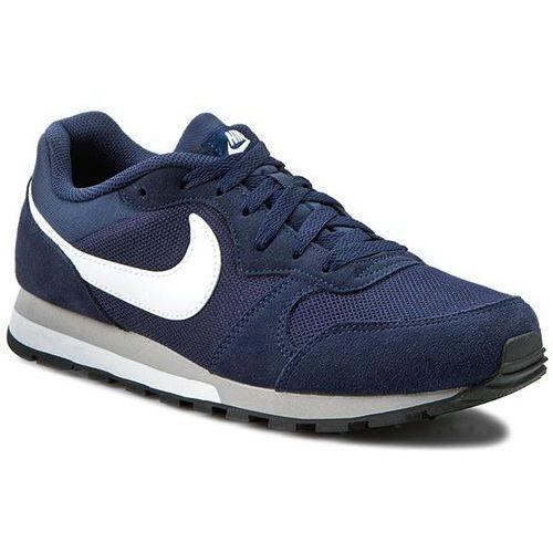 Buty - md runner 2 749794 410 midnight navy/white/wolf grey marki Nike