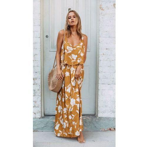Sukienka Orange Agnes M, kolor pomarańczowy. Najniższe ceny, najlepsze promocje w sklepach, opinie.
