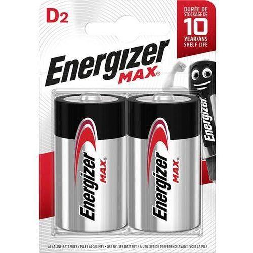 Energizer Bateria max d lr20 1,5v 2szt.