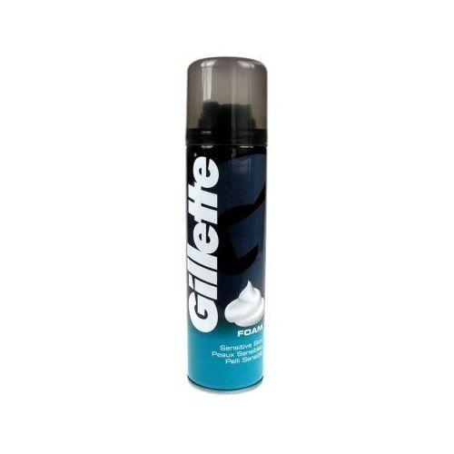 Gillette Shave Foam Sensitive pianka do golenia 300 ml dla mężczyzn