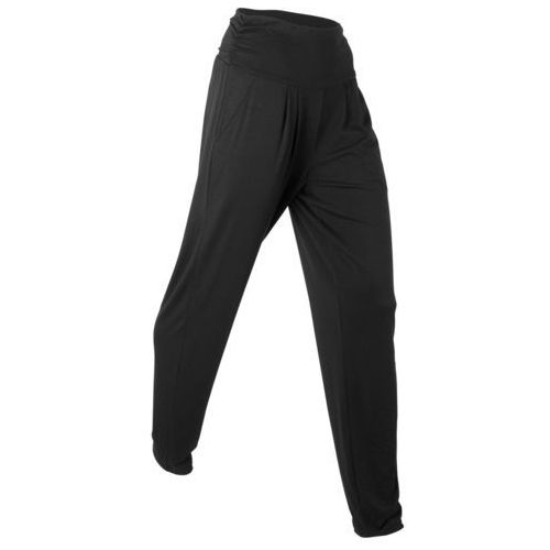 """Bonprix Spodnie haremki """"wellness"""", długie czarny"""