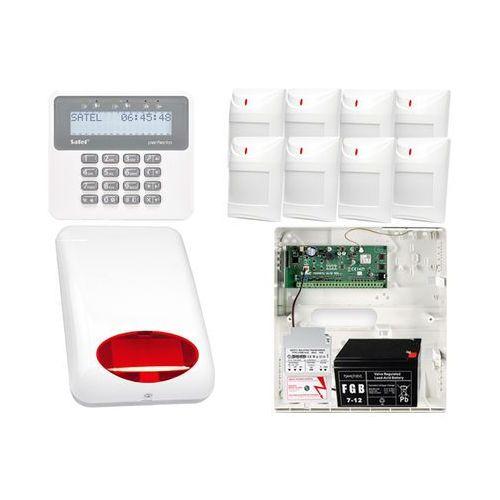 ZESTAW ALARMOWY: Płyta główna Perfecta 16 + Manipulator PRF-LCD + 8x Czujnik ruchu + Akcesoria