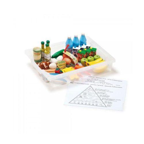 Zestaw klocków do nauki zasad zdrowego żywienia - zabawki dla dzieci