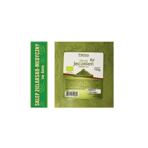 Młody jęczmień bio 200g 100% ekologiczny jęczmień marki Myvita. Najniższe ceny, najlepsze promocje w sklepach, opinie.