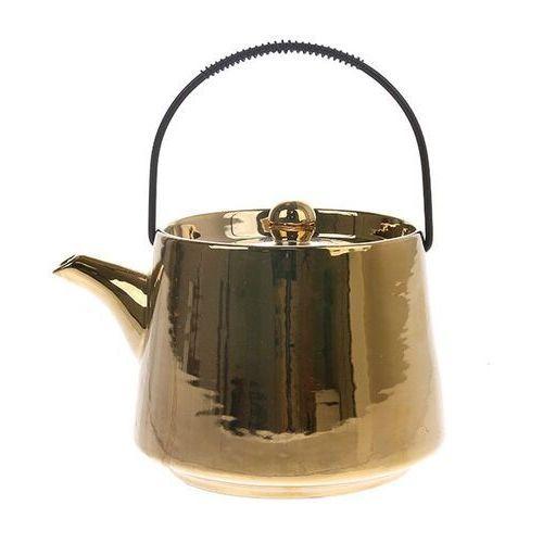 Hkliving dzbanek do herbaty złoty ace6740