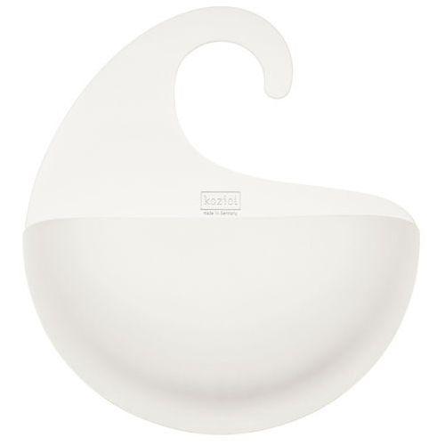 Organizer łazienkowy SURF XL - kolor biały, KOZIOL
