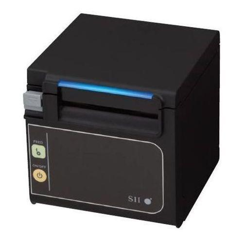 Termiczna drukarka pos rp-e11-w3fj1-u-c5 (usb), biała, wydruk z frontu, marki Seiko instruments