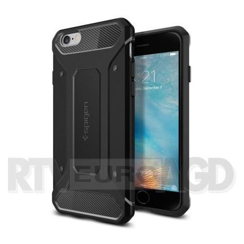 Spigen Rugged Armor SGP11643 iPhone 6s Plus (czarny), kolor czarny