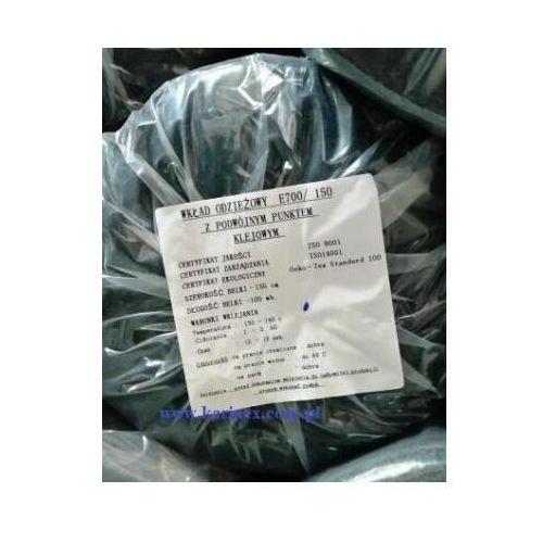 Wkład odzieżowy elastyczny e 700/150 czarny 100 mb. marki Vateks