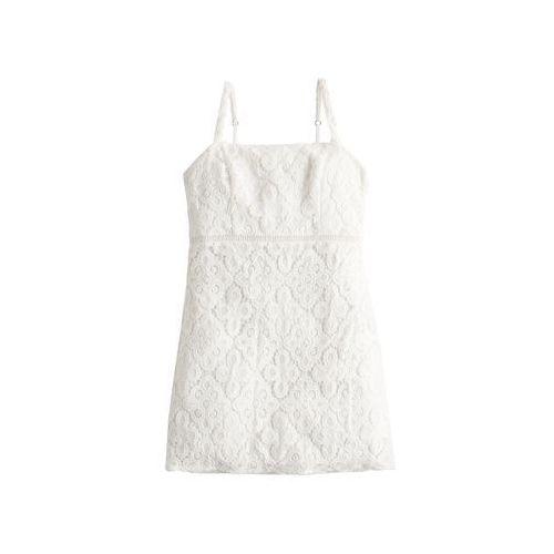 HOLLISTER Letnia sukienka 'SB19-DTC BARE' biały, letnia
