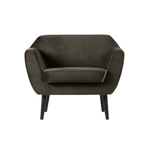 Woood fotel rocco velvet ciepła zieleń 340454-g (8714713089741)
