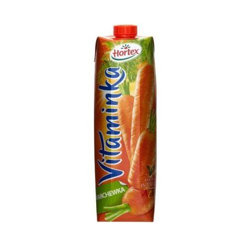 HORTEX 1l Vitaminka Marchewka Sok