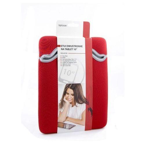 Treq Etui na tablet 10'' czerwone (5907707063749)